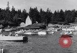 Image of Charles Lindbergh North Haven Maine USA, 1931, second 24 stock footage video 65675040722