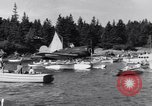 Image of Charles Lindbergh North Haven Maine USA, 1931, second 25 stock footage video 65675040722