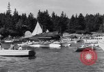 Image of Charles Lindbergh North Haven Maine USA, 1931, second 26 stock footage video 65675040722