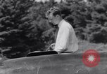 Image of Charles Lindbergh North Haven Maine USA, 1931, second 34 stock footage video 65675040722