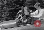 Image of Charles Lindbergh North Haven Maine USA, 1931, second 37 stock footage video 65675040722
