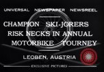 Image of Annual Motorbike Tournament Leoben Austria, 1932, second 3 stock footage video 65675040729