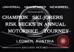 Image of Annual Motorbike Tournament Leoben Austria, 1932, second 7 stock footage video 65675040729