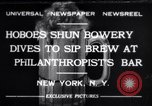 Image of Beer bar by Urbain Ledoux during prohibition New York City USA, 1932, second 1 stock footage video 65675040730
