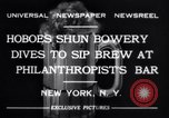Image of Beer bar by Urbain Ledoux during prohibition New York City USA, 1932, second 2 stock footage video 65675040730