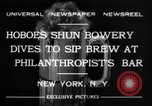 Image of Beer bar by Urbain Ledoux during prohibition New York City USA, 1932, second 5 stock footage video 65675040730