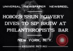 Image of Beer bar by Urbain Ledoux during prohibition New York City USA, 1932, second 6 stock footage video 65675040730