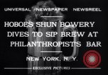 Image of Beer bar by Urbain Ledoux during prohibition New York City USA, 1932, second 8 stock footage video 65675040730