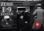 Image of Beer bar by Urbain Ledoux during prohibition New York City USA, 1932, second 13 stock footage video 65675040730