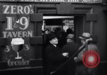 Image of Beer bar by Urbain Ledoux during prohibition New York City USA, 1932, second 14 stock footage video 65675040730