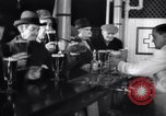 Image of Beer bar by Urbain Ledoux during prohibition New York City USA, 1932, second 25 stock footage video 65675040730