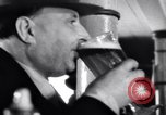 Image of Beer bar by Urbain Ledoux during prohibition New York City USA, 1932, second 29 stock footage video 65675040730
