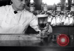 Image of Beer bar by Urbain Ledoux during prohibition New York City USA, 1932, second 46 stock footage video 65675040730