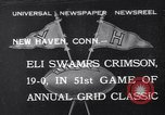 Image of football match New Haven Connecticut USA, 1932, second 1 stock footage video 65675040750