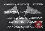 Image of football match New Haven Connecticut USA, 1932, second 3 stock footage video 65675040750