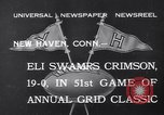 Image of football match New Haven Connecticut USA, 1932, second 4 stock footage video 65675040750