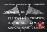 Image of football match New Haven Connecticut USA, 1932, second 5 stock footage video 65675040750