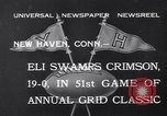 Image of football match New Haven Connecticut USA, 1932, second 6 stock footage video 65675040750