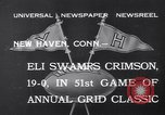 Image of football match New Haven Connecticut USA, 1932, second 8 stock footage video 65675040750