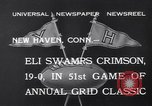 Image of football match New Haven Connecticut USA, 1932, second 10 stock footage video 65675040750