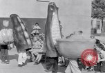 Image of Giant models of vegetables Hawthorne California USA, 1932, second 46 stock footage video 65675040751