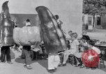 Image of Giant models of vegetables Hawthorne California USA, 1932, second 49 stock footage video 65675040751