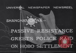 Image of Hobo settlement Shanghai China, 1932, second 3 stock footage video 65675040754