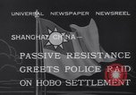 Image of Hobo settlement Shanghai China, 1932, second 4 stock footage video 65675040754