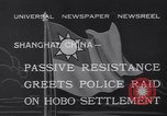 Image of Hobo settlement Shanghai China, 1932, second 5 stock footage video 65675040754