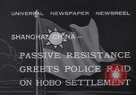Image of Hobo settlement Shanghai China, 1932, second 6 stock footage video 65675040754