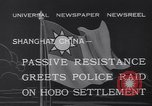 Image of Hobo settlement Shanghai China, 1932, second 7 stock footage video 65675040754