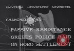 Image of Hobo settlement Shanghai China, 1932, second 9 stock footage video 65675040754