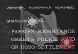 Image of Hobo settlement Shanghai China, 1932, second 10 stock footage video 65675040754