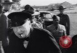 Image of Winston Churchill Quebec Canada, 1943, second 14 stock footage video 65675040767