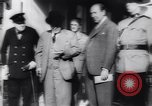 Image of Winston Churchill Quebec Canada, 1943, second 18 stock footage video 65675040767