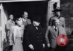 Image of Winston Churchill Quebec Canada, 1943, second 24 stock footage video 65675040767
