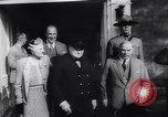 Image of Winston Churchill Quebec Canada, 1943, second 25 stock footage video 65675040767