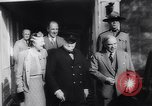Image of Winston Churchill Quebec Canada, 1943, second 27 stock footage video 65675040767