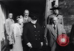 Image of Winston Churchill Quebec Canada, 1943, second 28 stock footage video 65675040767