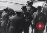 Image of Winston Churchill Quebec Canada, 1943, second 46 stock footage video 65675040767