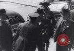 Image of Winston Churchill Quebec Canada, 1943, second 47 stock footage video 65675040767