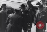 Image of Winston Churchill Quebec Canada, 1943, second 48 stock footage video 65675040767