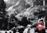 Image of Yosemite National Park in World War 2 Yosemite National Park California USA, 1943, second 18 stock footage video 65675040770