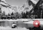 Image of Yosemite National Park in World War 2 Yosemite National Park California USA, 1943, second 50 stock footage video 65675040770