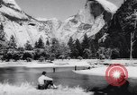 Image of Yosemite National Park in World War 2 Yosemite National Park California USA, 1943, second 51 stock footage video 65675040770