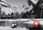 Image of Yosemite National Park in World War 2 Yosemite National Park California USA, 1943, second 53 stock footage video 65675040770