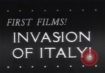 Image of Invasion of Italy in World War 2 Salerno Italy, 1943, second 1 stock footage video 65675040777