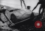 Image of Natives build World war 2 airfields in New Guinea India, 1944, second 47 stock footage video 65675040780