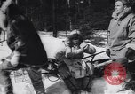 Image of Dog sled team rescues pilot United States USA, 1944, second 18 stock footage video 65675040790
