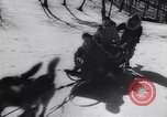 Image of Dog sled team rescues pilot United States USA, 1944, second 23 stock footage video 65675040790